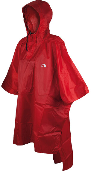 Tatonka Poncho 2 M-L red